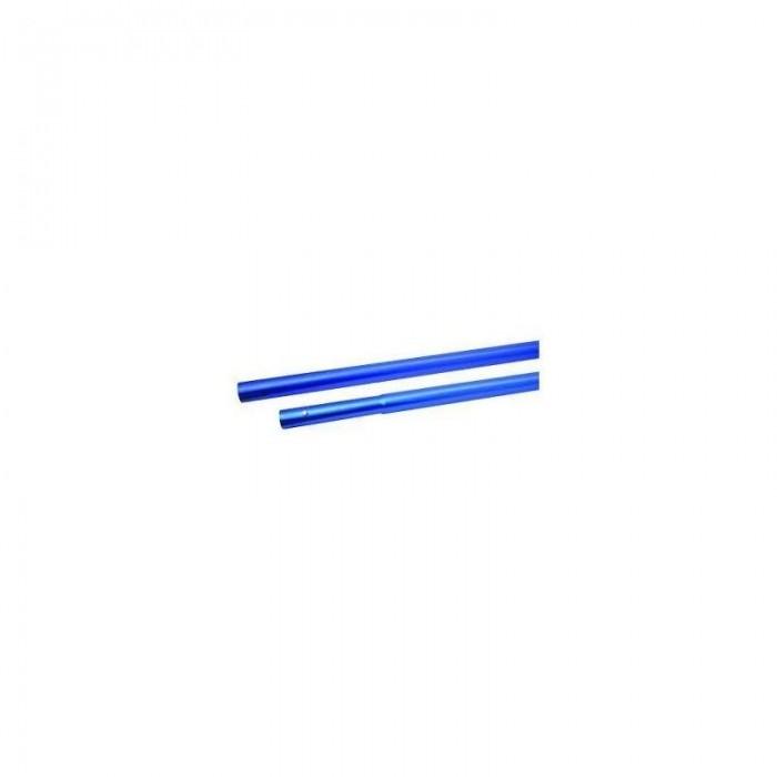Mango botón aluminio azul-45